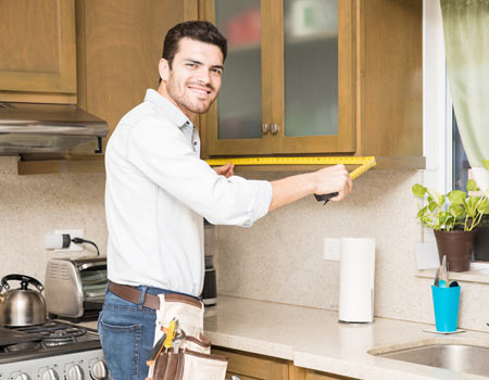 do it yourself measuring kitchen cabinets